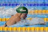 Keturi lietuviai - Europos plaukimo čempionato pusfinaliuose, D.Rapšys įspūdingai pagerino Lietuvos rekordą