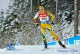 V.Stroliai ir T.Kaukėnui nedaug pritrūko iki vietos pasaulio biatlono taurės persekiojimo lenktynėse
