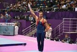 Ženkliai savo rezultatą pagerinęs gimnastas R.Guščinas Europos žaidynėse – 8-as