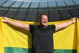 Varžybose Berlyne A.Gudžius įveikė sezono lyderį D.Stahlį ir iškovojo aukso medalį!