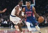 """""""Knicks"""" gretas papildys W.Ellingtonas"""