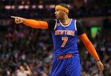 """""""Clippers"""" atnaujins derybas dėl C.Anthony mainų"""