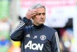 """J.Mourinho: """"Nemanau, kad 200 mln. svarų yra brangi suma už Neymarą"""""""