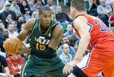Gražiausiu NBA dienos epizodu tapo triuškinantis D.Favorso dėjimas