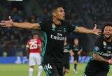 """Casemiro pripažino, jog """"Real"""" klubas pastaruoju metu nedemonstruoja gero žaidimo"""