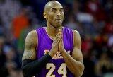 """K.Bryantas akimirkai sugrąžino į praeitį, tačiau galiausiai nusitempė """"Lakers"""" į pralaimėjimą"""
