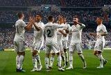 "K.Benzema pelnė dublį, o ""Real"" sutriuškino ""Leganes"" klubą"