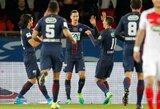 """Dėl vietos finale PSG labai lengvai sutriuškino """"Monaco"""" ekipą"""