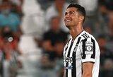 """""""Juventus"""" klubas oficialiai atsisveikino su C.Ronaldo"""