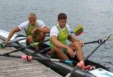 Devyni lietuviai kovos dėl pasaulio irklavimo taurės etapo Šveicarijoje medalių