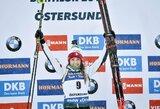 D.Wierer pirmą kartą karjeroje iškovojo pasaulio biatlono taurę