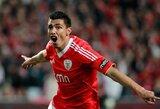 """Chelsea"" domisi ""Benfica"" puolėju O.Cardozo"