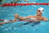 Pasaulio taurės etape Singapūre V.Morozovas vėl pagerino rekordą, lietuviai į finalus nepateko