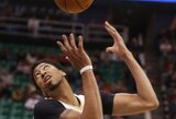 A.Davisas Jutoje pademonstravo galingą krepšinio šou
