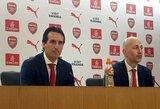 """Laikas permainoms: penki žaidėjai, kuriuos U.Emery gali privilioti į """"Arsenal"""""""