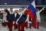 Rusų vėliavnešys diskvalifikuotas iki gyvos galvos, šeimininkai prarado Sočio olimpiados medalių įskaitos pirmą vietą