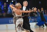Lietuvos šokėjų poros – pasaulio reitingo lentelės viršuje