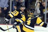 """J.Malkino vedama """"Penguins"""" nutraukė devynių iš eilės """"Capitals"""" pergalių seriją"""