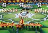 Pamatykite: pasaulio čempionato atidarymo ceremonija spalvingoje fotogalerijoje