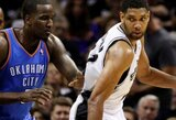 M.Cubanas: noriu, kad Duncanas laimėtų NBA čempiono žiedą ir baigtų karjerą