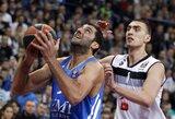 """""""Real"""" daugiau nei 21 tūkst. žiūrovų akivaizdoje nugalėjo """"Partizan"""" ir pergale pradėjo """"Top 16"""" etapą"""