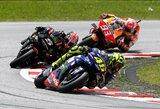 V.Rossi krito nuo motociklo ir apmaudžiai išleido pirmą metų pergalę iš rankų