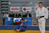Europos jaunimo dziudo čempionate R.Nenartavičiui iki medalio pritrūko vienos pergalės