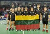 Europos U17 reitingo badmintono turnyre Vilniuje trys lietuvės pasiekė ketvirtfinalį