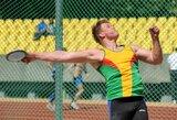 Disko metikas A.Gudžius liko už Europos čempionato finalo borto