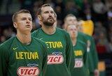 Lietuvos rinktinė atrankos etapą pabaigs Klaipėdoje
