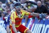 I.Konovalovui pasaulio plento dviračių čempionate nepavyko pasiekti finišo