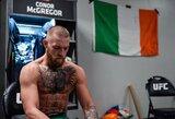 Airijoje uždaryta C.McGregoro treniruočių salė, D.White'as tikisi, kad jo kova su D.Poirier įvyks