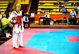 Europos jaunimo tekvondo čempionate A.Klemas iškovojo vieną pergalę