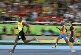 Už nugaros visus varžovus palikęs U.Boltas iškovojo antrą aukso medalį Rio de Žaneire