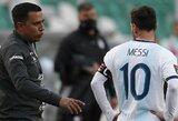 """L.Messi: """"Šiuo metu esu mažiau apsėstas noru pelnyti įvarčius"""""""