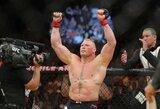 UFC žvaigždė B.Lesnaras ir toliau klimpsta: dopingo mėginys paimtas po kovos su M.Huntu - taip pat teigiamas