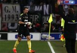 """""""Lazio"""" nutraukė pergalingą """"Juventus"""" rungtynių seriją, """"Napoli"""" neįveikė """"Chievo"""" klubo"""