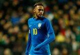 Brazilijos rinktinės strategas Tite patarė Neymarui persikelti rungtyniauti ten, kur jaučiasi laimingas