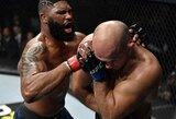 """""""UFC on ESPN+ 24"""": J.Dos Santosą techniniu nokautu įveikęs C.Blaydesas reikalauja kovos dėl sunkiasvorių čempiono titulo"""