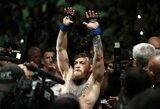 Naujoji UFC žvaigždė pateikė savo scenarijų, kaip C.McGregoras galėtų susigrąžinti diržą