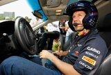 """S.Vettelis išbandė naująją """"Port Imperial"""" gatvių trasą"""