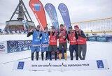 A.Vasiljevas ir M.Malinauskas iškovojo Europos sniego tinklinio turo Italijoje bronzą