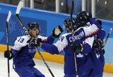 Sensacingas olimpinio ledo ritulio turnyro startas: pralaimėjo ir rusai, ir amerikiečiai!
