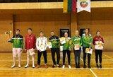 Lietuvos fechtavimo taurės nugalėtojais tapo V.Ažukaitė ir D.Vaivada