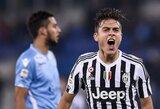 """Puikus P.Dybalos žaidimas – """"Juventus"""" raktas į pergalę"""