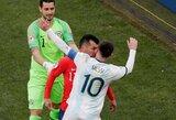 Pamatykite: L.Messi ir G.Medelis po konflikto išvyti iš aikštės mažajame finale