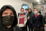 C.Nurmagomedovas įstrigo Rusijoje? Pranešama apie sustabdytus skrydžius