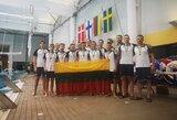 Lietuvos jaunučių vandensvydžio rinktinė tapo Šiaurės Europos šalių čempione, jauniai laimėjo sidabrą