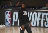 """L.Jamesą ir kitus NBA krepšininkus supykdė """"Bucks"""" sprendimas nežaisti"""