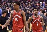 """K.Lowry atsisakė kalbėti apie """"Raptors"""" naujoką K.Leonardą"""